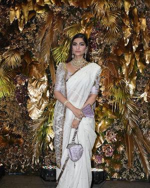 Sonam Kapoor Ahuja - Photos: Armaan Jain And Anissa Malhotra Wedding Reception In Mumbai   Picture 1719744