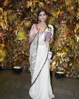 Sonam Kapoor Ahuja - Photos: Armaan Jain And Anissa Malhotra Wedding Reception In Mumbai