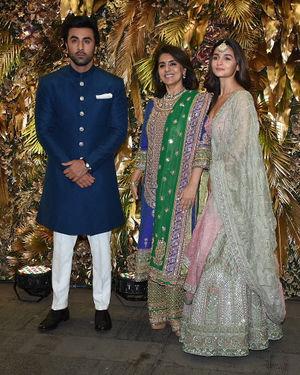 Photos: Armaan Jain And Anissa Malhotra Wedding Reception In Mumbai