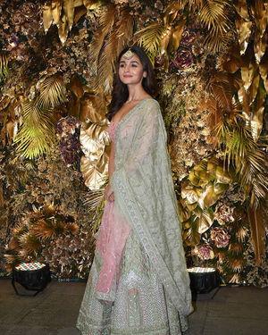 Alia Bhatt - Photos: Armaan Jain And Anissa Malhotra Wedding Reception In Mumbai | Picture 1719817