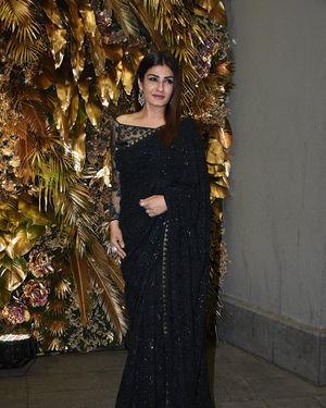 Raveena Tandon - Photos: Armaan Jain And Anissa Malhotra Wedding Reception In Mumbai