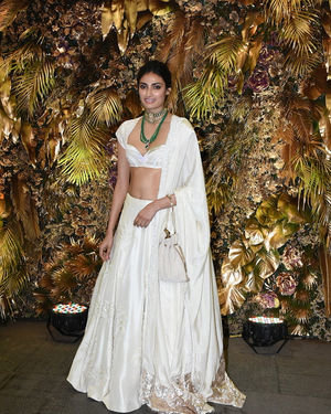Athiya Shetty - Photos: Armaan Jain And Anissa Malhotra Wedding Reception In Mumbai