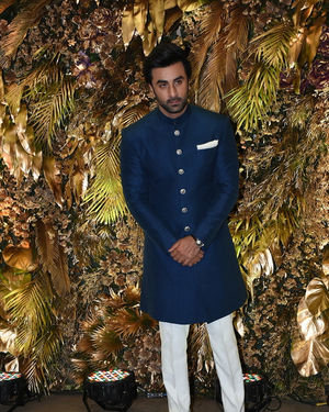 Ranbir Kapoor - Photos: Armaan Jain And Anissa Malhotra Wedding Reception In Mumbai