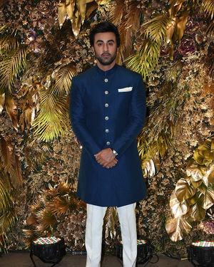Ranbir Kapoor - Photos: Armaan Jain And Anissa Malhotra Wedding Reception In Mumbai | Picture 1719822