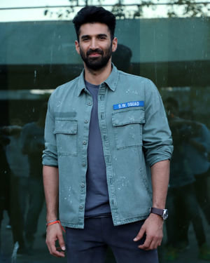 Aditya Roy Kapur - Photos: Malang Cast At Luv Films Office In Andheri | Picture 1719835