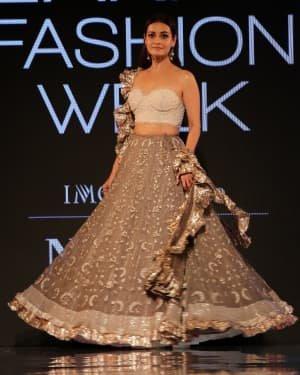 Photos: Dia Mirza Walks Ramp For Kotwara Show At LFW 2020 | Picture 1720268