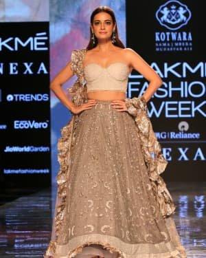 Photos: Dia Mirza Walks Ramp For Kotwara Show At LFW 2020 | Picture 1720259