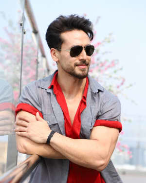 Tiger Shroff - Photos:  Promotion Of Film 'Baaghi 3' At Sajid Nadiadwala's Office