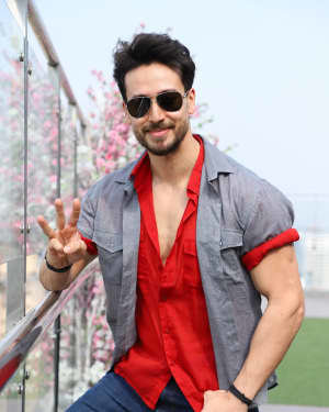 Tiger Shroff - Photos:  Promotion Of Film 'Baaghi 3' At Sajid Nadiadwala's Office | Picture 1720345