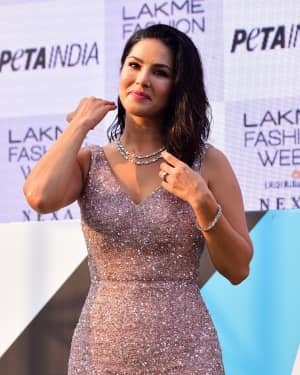 Photos: Sunny Leone At Vegan Fashion Campaign Launch At Lfw Sr 2020 | Picture 1720215