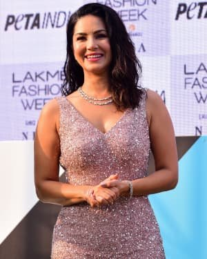 Photos: Sunny Leone At Vegan Fashion Campaign Launch At Lfw Sr 2020