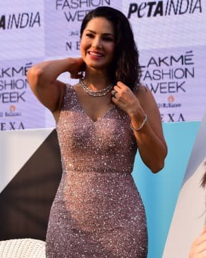 Photos: Sunny Leone At Vegan Fashion Campaign Launch At Lfw Sr 2020 | Picture 1720213