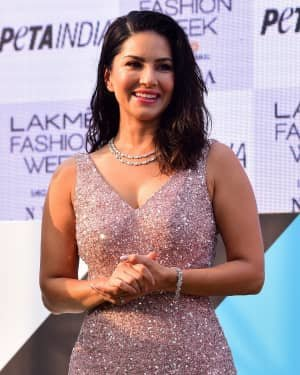 Photos: Sunny Leone At Vegan Fashion Campaign Launch At Lfw Sr 2020 | Picture 1720214