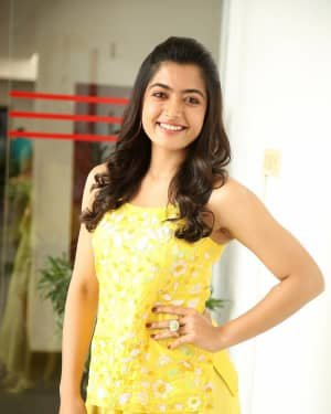 Rashmika Mandanna At Bheeshma Movie Interview Photos | Picture 1721063