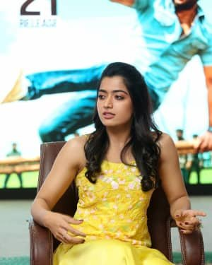 Rashmika Mandanna At Bheeshma Movie Interview Photos | Picture 1721057