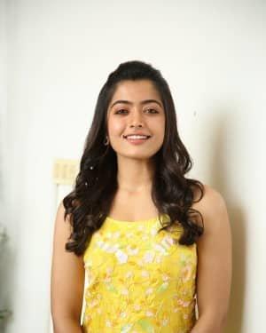 Rashmika Mandanna At Bheeshma Movie Interview Photos | Picture 1721077