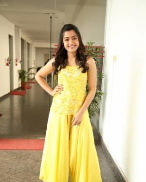 Rashmika Mandanna At Bheeshma Movie Interview Photos | Picture 1721060