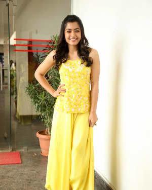 Rashmika Mandanna At Bheeshma Movie Interview Photos | Picture 1721075