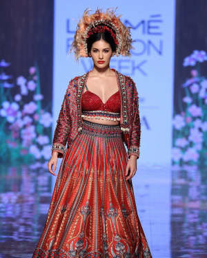 Photos: Amyra Dastur Walks Ramp At Lakme Fashion Week 2020 | Picture 1721768