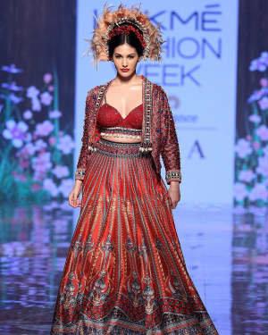 Photos: Amyra Dastur Walks Ramp At Lakme Fashion Week 2020