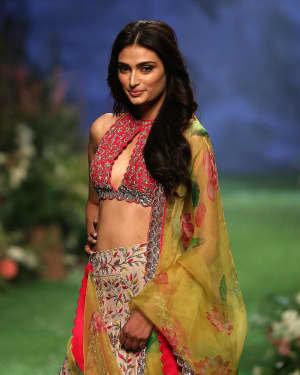 Photos: Athiya Shetty Walks Ramp At Lakme Fashion Week 2020 | Picture 1721760