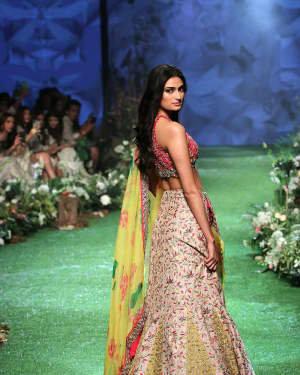 Photos: Athiya Shetty Walks Ramp At Lakme Fashion Week 2020 | Picture 1721750