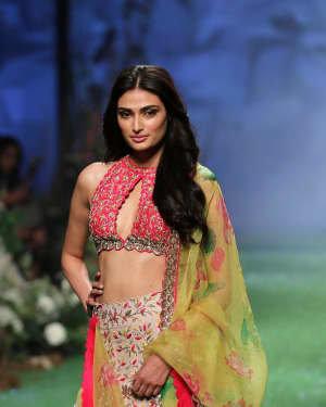 Photos: Athiya Shetty Walks Ramp At Lakme Fashion Week 2020 | Picture 1721748