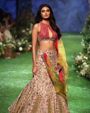 Photos: Athiya Shetty Walks Ramp At Lakme Fashion Week 2020 | Picture 1721756