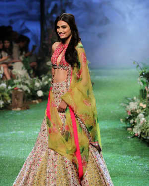 Photos: Athiya Shetty Walks Ramp At Lakme Fashion Week 2020 | Picture 1721747