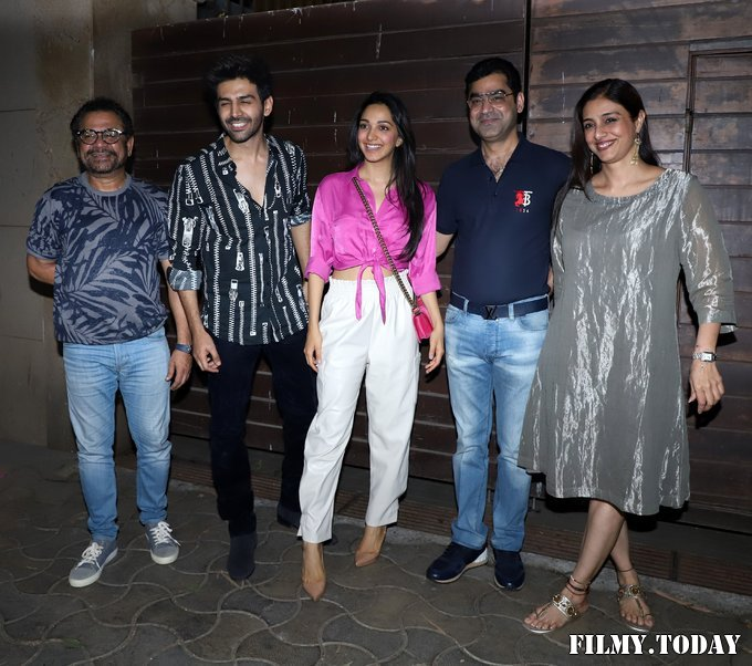 Photos: Bhool Bhulaiyaa 2 Team At Producer Murad Khetani's House Party   Picture 1721581