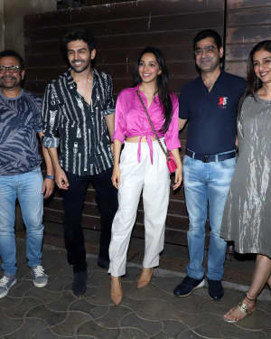 Photos: Bhool Bhulaiyaa 2 Team At Producer Murad Khetani's House Party | Picture 1721581