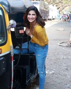 Aahana Kumra - Photos:  Celebs Spotted At Filmcity