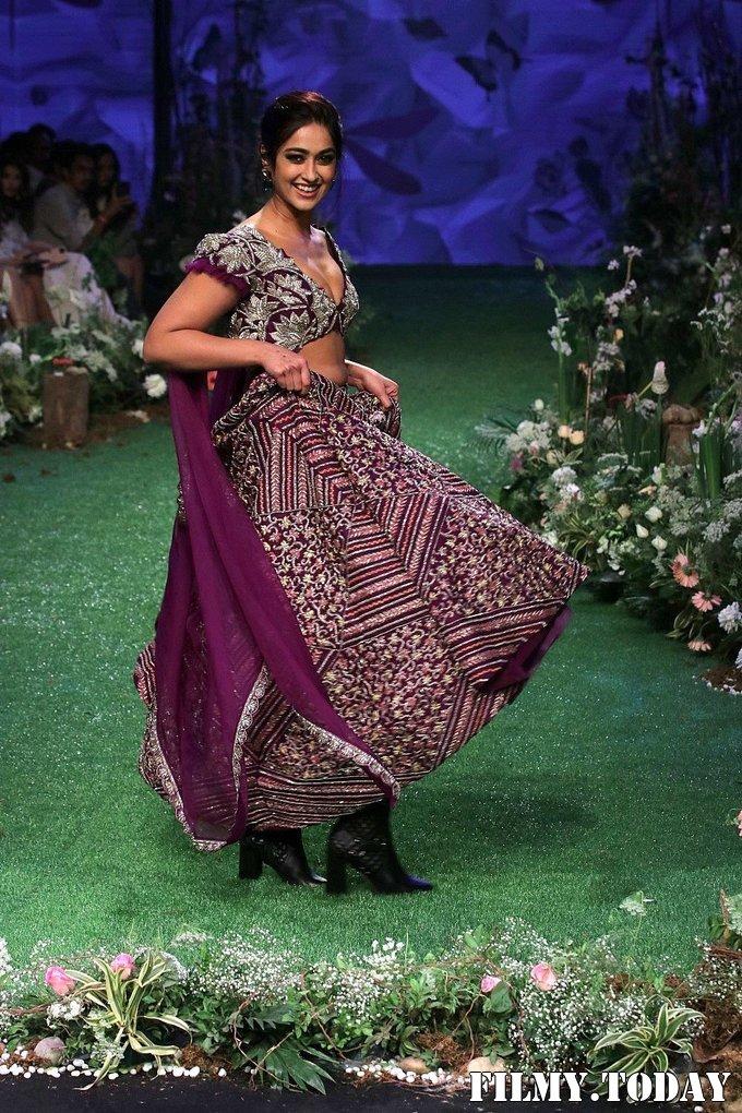 Photos: Ileana D'Cruz Walks Ramp At Lakme Fashion Week 2020   Picture 1721753