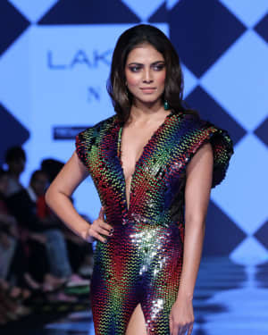 Photos: Malavika Mohanan Walks Ramp At Lakme Fashion Week 2020 | Picture 1721743