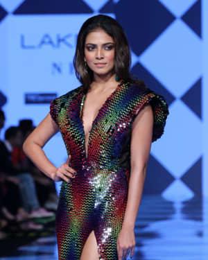 Photos: Malavika Mohanan Walks Ramp At Lakme Fashion Week 2020 | Picture 1721746