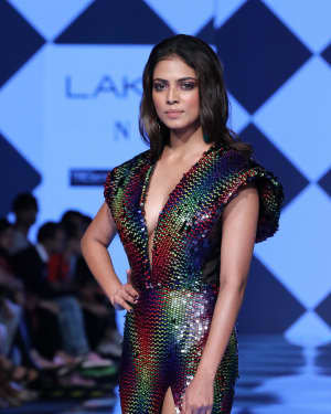 Photos: Malavika Mohanan Walks Ramp At Lakme Fashion Week 2020 | Picture 1721745