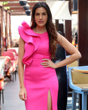 Sonnalli Seygall - Photos: Muhurat Of Film Boondi Raita At Andheri