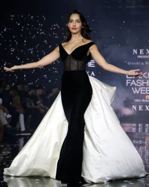 Photos: Nora Fatehi Walks For Gauri And Nainika At LFW 2020   Picture 1721621