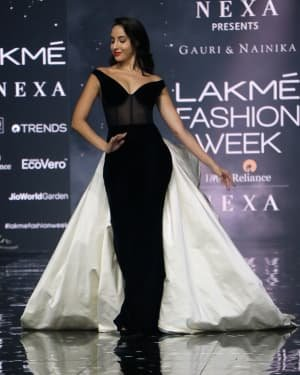 Photos: Nora Fatehi Walks For Gauri And Nainika At LFW 2020   Picture 1721620