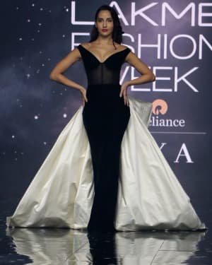 Photos: Nora Fatehi Walks For Gauri And Nainika At LFW 2020   Picture 1721617