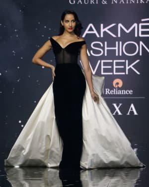 Photos: Nora Fatehi Walks For Gauri And Nainika At LFW 2020   Picture 1721618