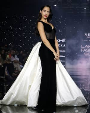Photos: Nora Fatehi Walks For Gauri And Nainika At LFW 2020   Picture 1721624