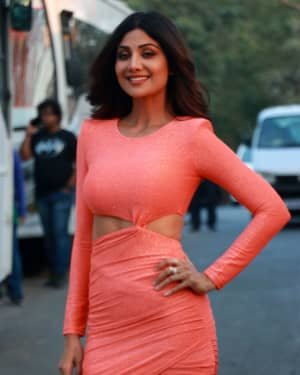 Shilpa Shetty - Photos: Promotion Of Nikamma At Big Boss House