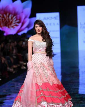 Photos: Rhea Chakraborty Walks Ramp At Lakme Fashion Week 2020 | Picture 1721775