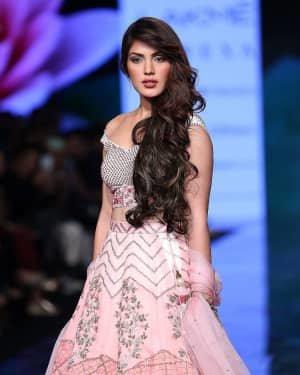 Photos: Rhea Chakraborty Walks Ramp At Lakme Fashion Week 2020 | Picture 1721776