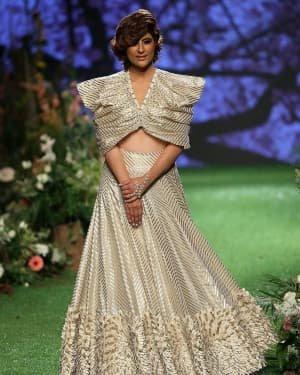 Photos: Tahira Kashyap Walks Ramp At Lakme Fashion Week 2020 | Picture 1721767