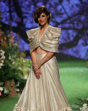 Photos: Tahira Kashyap Walks Ramp At Lakme Fashion Week 2020 | Picture 1721769