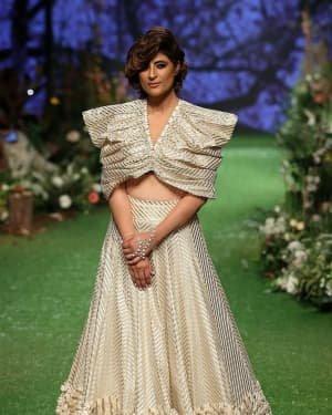 Photos: Tahira Kashyap Walks Ramp At Lakme Fashion Week 2020 | Picture 1721765