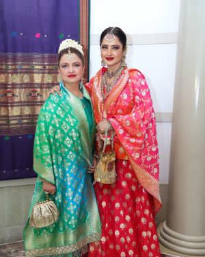 Photos: Wedding Reception Of Rikuji's Daughter At ITC Grand Maratha