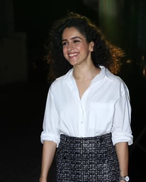 Sanya Malhotra - Photos: Screening Of Bhoot The Haunted Ship At Pvr Juhu